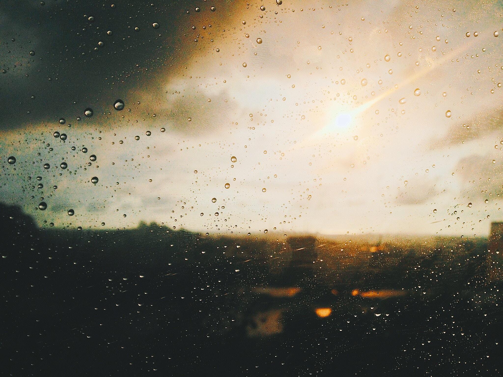 rainy-day blues